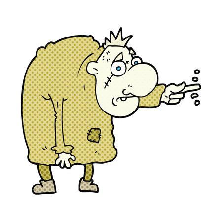 igor: freehand drawn cartoon igor