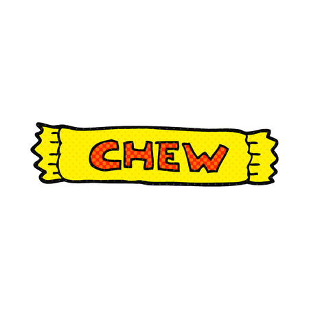 chew: freehand drawn cartoon chew