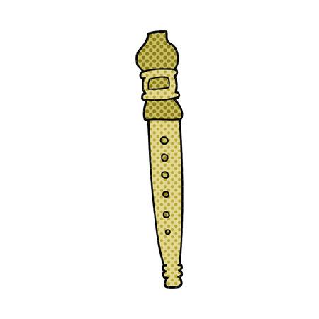 grabadora: dibujado a mano alzada grabador de dibujos animados