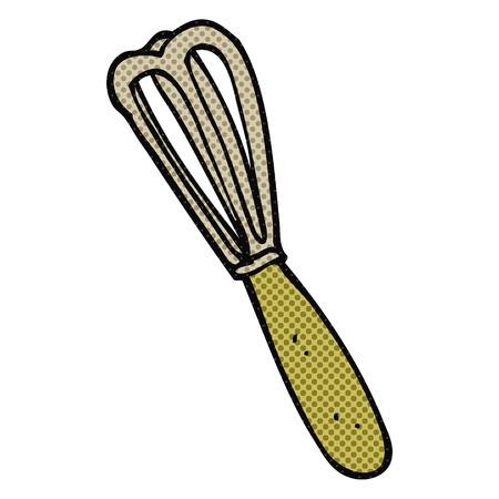 whisk: freehand drawn cartoon whisk