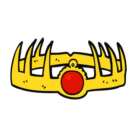 quirky: freehand drawn cartoon crown
