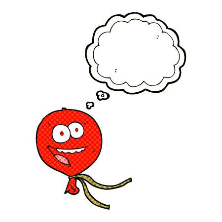 thought balloon: freehand drawn thought bubble cartoon balloon Illustration