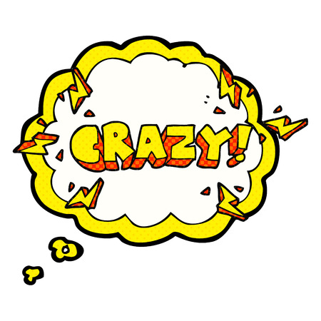 shout: freehand drawn thought bubble cartoon shout crazy