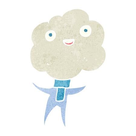 imp: cute cloud head creature