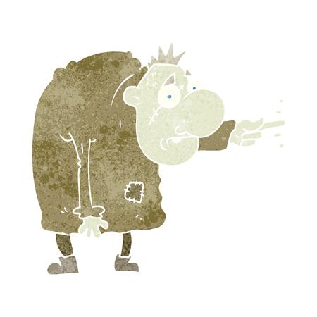 igor: freehand retro cartoon igor