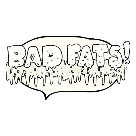 mould: freehand drawn texture speech bubble cartoon bad fats
