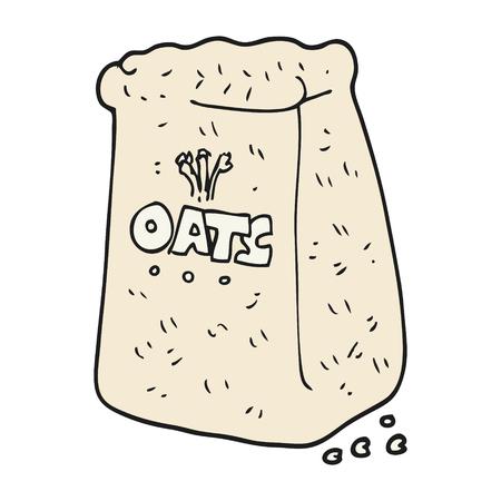 oats: freehand drawn cartoon oats