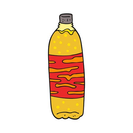 fizzy: freehand drawn cartoon fizzy drink