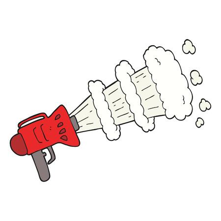 loud hailer: freehand drawn cartoon loud hailer