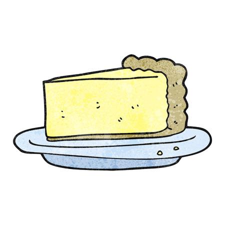 cheesecake: freehand textured cartoon cheesecake