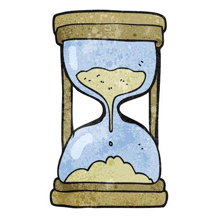 textured: freehand textured cartoon timer