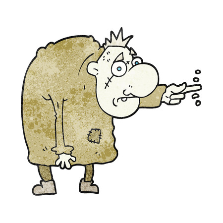 igor: freehand textured cartoon igor