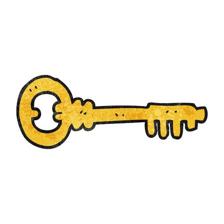 textured: freehand textured cartoon key