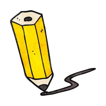 scribbling: freehand textured cartoon pencil scribbling