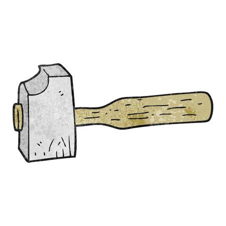 mallet: freehand textured cartoon mallet