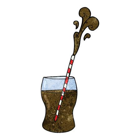fizzy: freehand textured cartoon fizzy drink