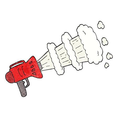 loud hailer: freehand textured cartoon loud hailer Illustration