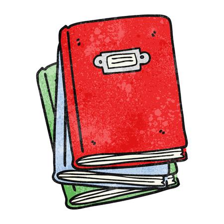 textured: freehand textured cartoon book Illustration