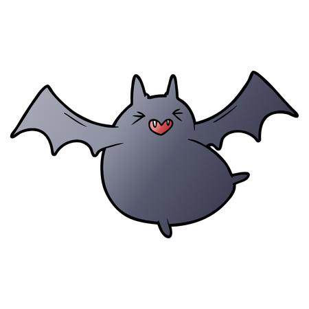 spooky cartoon bat Çizim