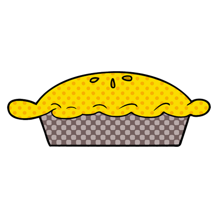 Cartoon Pie Illustration Standard-Bild - 94473118