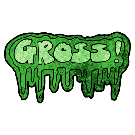 cartoon gross symbol