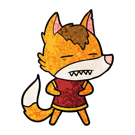 fox cartoon character