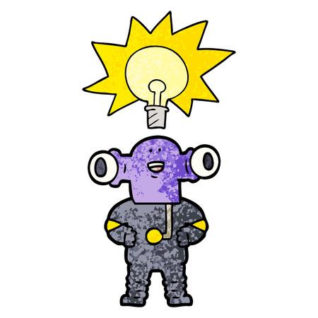 Alien amigável dos desenhos animados Foto de archivo - 94545986