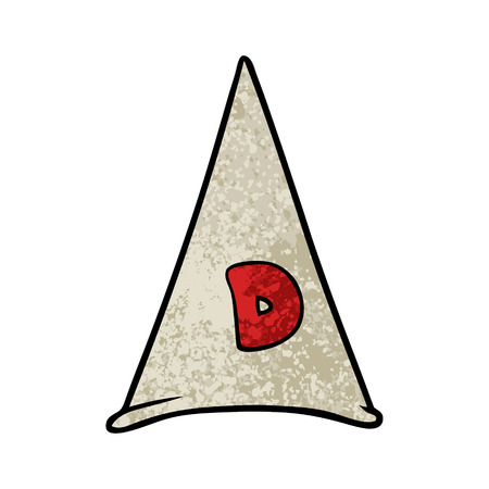 school dunce hat Illustration