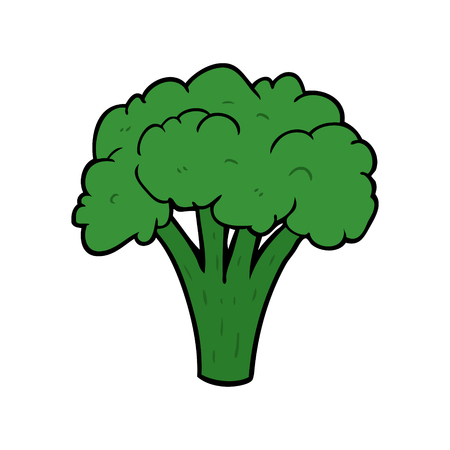 Cartoon brocoli.
