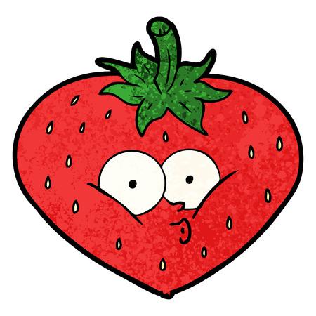 cartoon strawberry Фото со стока - 94621917