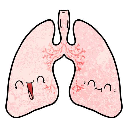 cartoon lungs