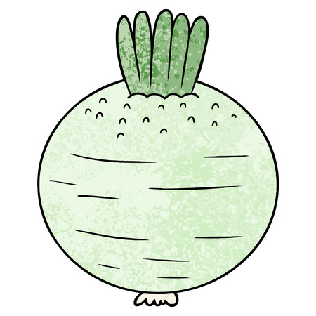 cartoon turnip