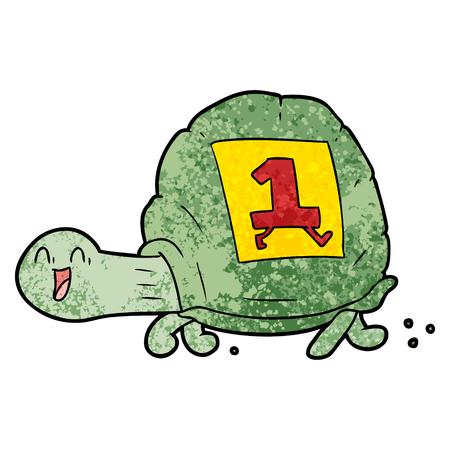 幸せな亀の漫画