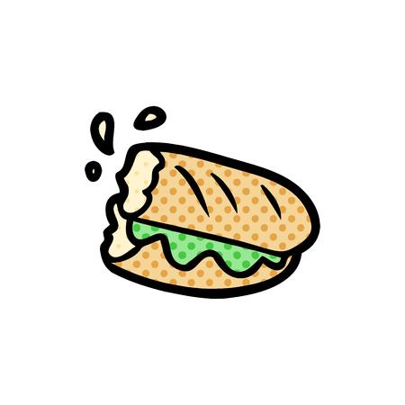 만화 버게 트빵 일러스트