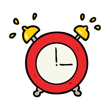 cartoon ringing alarm clock Stock Vector - 94623017