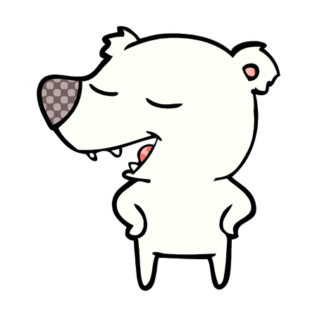 IJsbeer cartoon
