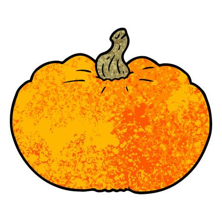 Cartoon pumpkin Иллюстрация
