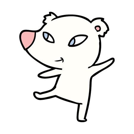 Polar bear cartoon Illustration