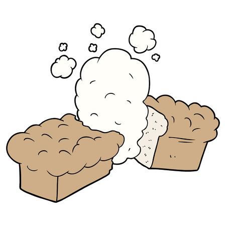 焼きたてのパン漫画