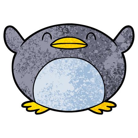 cartoon penguin illustration. Stok Fotoğraf - 94642221