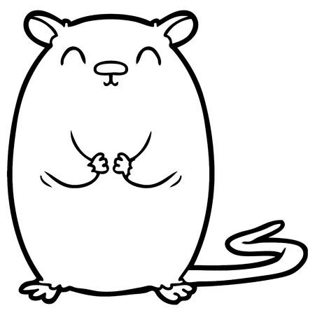 Cartoon Maus Illustration Standard-Bild - 94641823