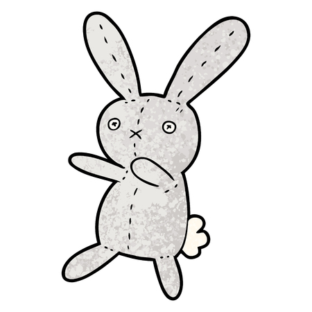 만화 장난감 토끼