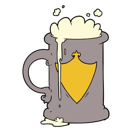 漫画発泡ビール