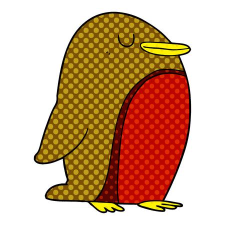 Cartoon Robin Stock Illustratie