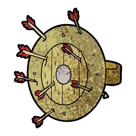 Shield full of arrows