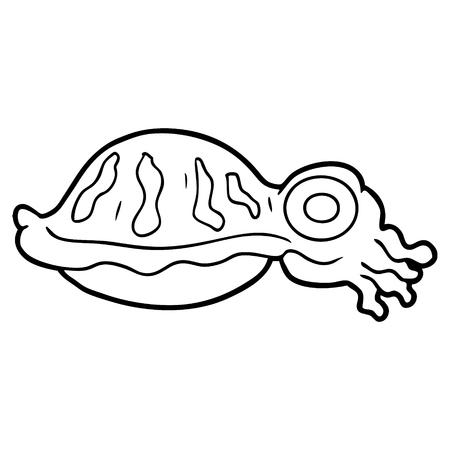 만화 오징어
