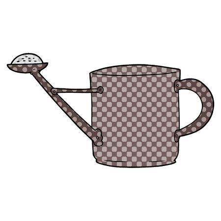 漫画の水やり缶