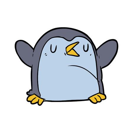 cartoon penguin Stok Fotoğraf - 94689449