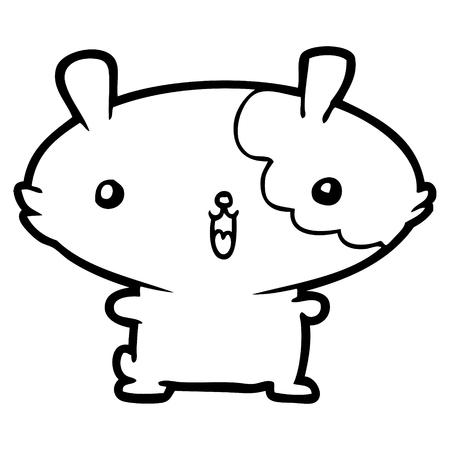 hamster de dessin animé