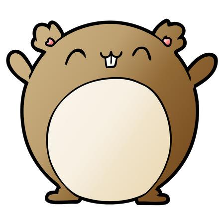 cartoon hamster illustration